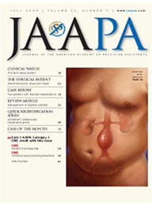 Journal of the American Academy of Physician Assistants